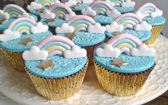 Cupcakes unicórnio.