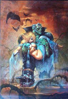 Pin on Simon Bisley Simon Bisley, Fantasy Art Women, Dark Fantasy Art, Pop Art Drawing, Heavy Metal Art, Movie Poster Art, Character Design Animation, Monster Art, Fantasy Illustration
