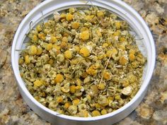 Chamomile - Whole Flowers - Whole flowers for brewing the best chamomile tea. -- order online!