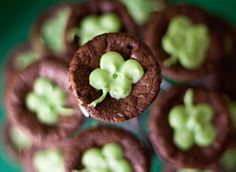 Bailey's Brownie Bites...Guinness beer, Baileys Irish Cream...I'll stop there. Going to be a spectacular St. Patrick's Day I do believe:) hehe.
