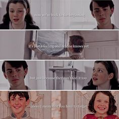 Let your memories grow stronger and stronger till they're before your eyes❤️ Narnia Cast, Narnia 3, Chronicles Of Narnia Books, Narnia Movies, Edmund Pevensie, Icarly, Cs Lewis, Girl Meets World, Book Fandoms