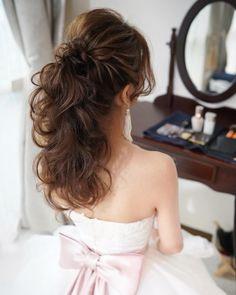 Fun and Beautiful Braided Hairstyles – HerHairdos Wedding Half Updo, Hairdo Wedding, Bridal Hair Updo, Evening Hairstyles, Dance Hairstyles, Bride Hairstyles, Bridesmade Hair, Hair Arrange, Hair Setting