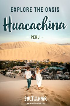 Highest Dunes in the Desert Oasis Huacachina, Peru Travel Route, Peru Travel, Europe Travel Tips, Places To Travel, Travel Destinations, Travel Hacks, Travel Essentials, Backpacking South America, Backpacking Europe