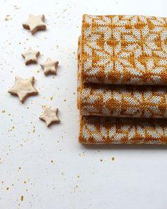 Cinnamon Stars pattern by Amy van de Laar