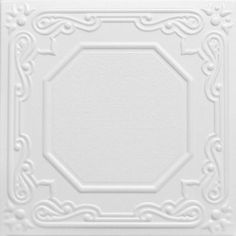 R32 Styrofoam Ceiling Tile is one of our top sellers.  This tile can be installed over most surfaces.