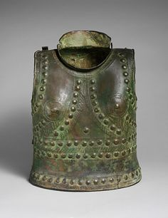 Armor Etruscan, 7th-6th century BCE. The Metropolitan Museum of Art