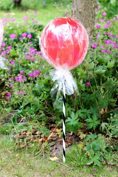 Lollipop Balloons How-To for kids parties