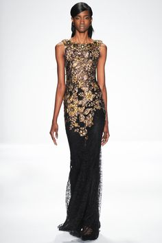 Badgley Mischka at New York Fashion Week Fall 2014