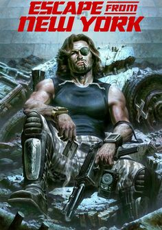 Escape from New York movie poster a Fantastic Movie posters movie posters movie posters movie posters movie posters movie posters movie Posters Science Fiction, Fiction Movies, Sci Fi Movies, Hd Movies, Movies Online, Silvestre Stallone, Armadura Do Batman, New York Movie, Kino Film