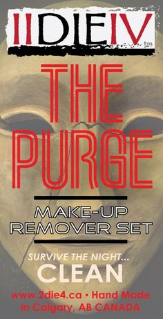 The Purge Make-up Removal Set