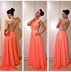 Vestido lindo laranja!