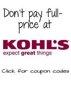 Kohls coupons august 2017 coupon codes printable coupons kohls coupon codes httpsave1storeskohls fandeluxe Image collections