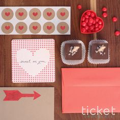 """Ticket Chocolate -- what a """"sweet"""" Valentine's Day gift! I actually tried it for the first time last year on Valentine's Day and it was DELISH. I have been jonesing to try some of their new flavors! Mmmm..."""