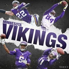No. 22 on our NFL countdown: The Minnesota Vikings. Only a few weeks until the season begins!