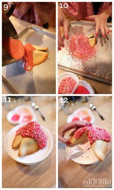 Valentine's Day Fortune Cookie Recipe