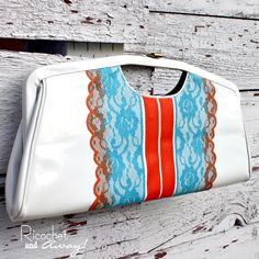 Ricochet and Away!: Clutch Makeover DIY