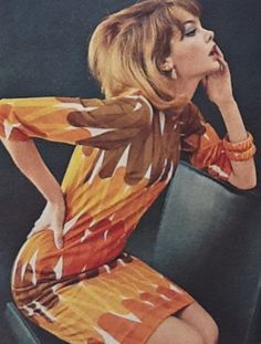 Jean Shrimpton by David Bailey, 1965. She was one of the most famous models of her time.