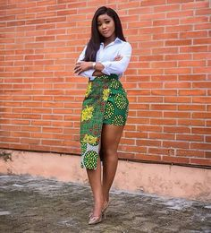 ankara stil 2020 Simple and Lovely Ankara Styles Short African Dresses, Latest African Fashion Dresses, African Print Dresses, African Print Fashion, Ankara Fashion, African Prints, African Clothes, Africa Fashion, African Skirt