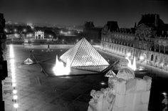 Louvre de nuit, vue des toits 156_10  Photo Serge Sautereau  http://www.serge-sautereau.com/