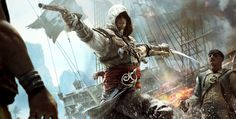View an image titled 'Cover Art' in our Assassin's Creed IV: Black Flag art gallery featuring official character designs, concept art, and promo pictures. The Assassin, Arte Assassins Creed, Assassins Creed Black Flag, Assassin Order, Cover Art, Asesins Creed, Assassin's Creed Black, Assassin's Creed Wallpaper, Fan Art