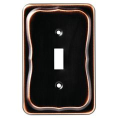 "Lowes Wall Plates Brainerd 518""w X 5""h Bronze With Copper Highlights Combination"