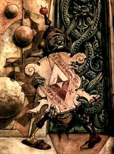 Brian Froud - through him alone, the Goblin King lives! Jim Henson Labyrinth, Labyrinth 1986, Labyrinth Movie, Labyrinth Goblins, Brian Froud, Illustrations, Illustration Art, Fraggle Rock, Goblin King