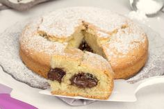 torta con la nutella che non affonda 1 Italian Cake, Cooking Cake, Cannoli, Something Sweet, Baking Tips, Biscotti, Cake Cookies, Yummy Cakes, Doughnut