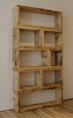 madeira. caixote. estante