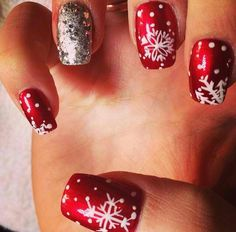 Winter Nails, literally. <3