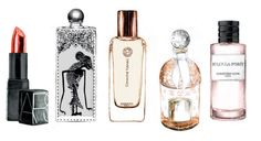 Printemps Haussmann - La Belle Parfumerie by Caroline Andrieu, via Behance