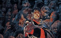 Dylan Dog Dylan Dog, Survival, Sky, Dogs, Wall, Painting, Fictional Characters, Heaven, Heavens
