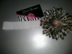 3in Cheetah Print Gerber Daisy - 12-18mths. $8.00, via Etsy.