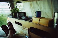 """alongside-death: """" mybeautifulrepublic: """" """" I took a 7 week coast to coast road trip after being laid off from Boeing. I didn't have a camper but realized that being able to pull off the road at a rest or truck stop was the way to go to make the trip. Pickup Camping, Truck Bed Camping, Jeep Camping, Van Camping, Camping Life, Stealth Camping, Camper Shells, Camping Outfits, Camper Trailers"""
