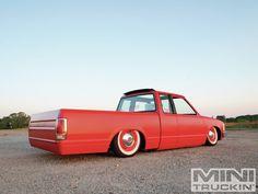 1985 Nissan 720 Dirty Dub Rear Angle