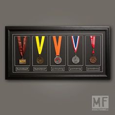 medal display ideas- ❤️ but how many do we have to have!