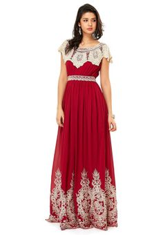 Threadz maxi lace detail dress #Namshi #fashion #beauty