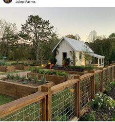 Backyard Greenhouse, Backyard Landscaping, Garden Yard Ideas, Garden Beds, Farm Gardens, Outdoor Gardens, Dream Garden, Home And Garden, Design Jardin