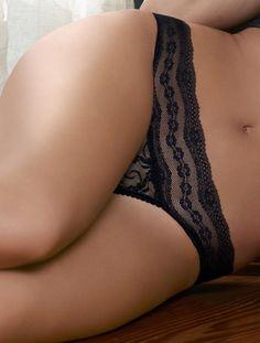 b.tempt'd by Wacoal Women's Lace Kiss Bikini Panty 978182  Size L NEW Brown #btemptd #Bikinis
