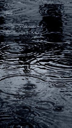 Black Wallpaper: Rain HD iPhone wallpaper:: These black wallpaper on your phone or tablet will be…