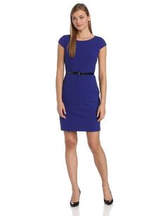 AGB Women's Spliced and Seamed Belted Soft Sheath, Blueberry, 10 AGB,http://www.amazon.com/dp/B00F5QGD00/ref=cm_sw_r_pi_dp_S3Eitb0PKHTFPCXB