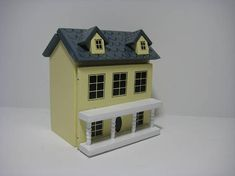 Dollhouse Miniature 1:144 Scale Dolls House The Montgomery Resin