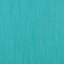 Turqoise Stretch Cotton Blended Denim