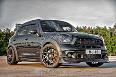 MINI Countryman 4ALL by MORR Wheels Cooper Countryman, Mini Cooper Clubman, Mini Copper, John Cooper Works, Mini One, Car Goals, Classic Mini, Car Manufacturers, My Ride
