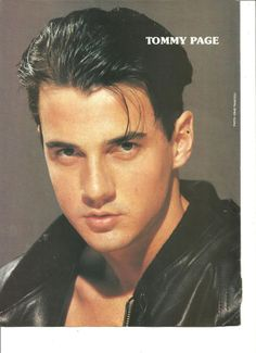 Tommy Page, Vanilla Ice, Double Sided Full Page Vintage Pinup