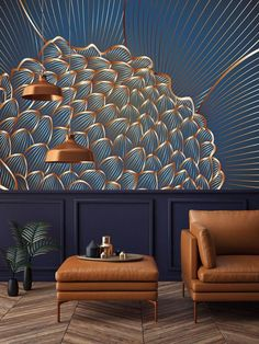 Casa Art Deco, Art Deco Decor, Art Deco Home, Art Deco Design, Wall Design, Quote Design, Interior Design Minimalist, Room Interior Design, Interior Decorating