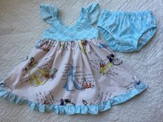 Fashionable Disney princess flutter sleeve by LillianKateCustom  Disney princess dress, handmade disney dress, handmade children's clothes