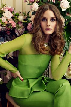 fashion-universes:    Olivia Palermo Stars in Marie Claire Spain February 2013