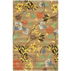 Safavieh Soho Brown Area Rug Rug Size:
