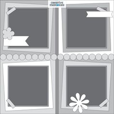 Scrapbook Layout Sketches, Card Sketches, Scrapbooking Layouts, Scrapbook Cards, Scrapbook Organization, Multi Photo, July 6th, Photo Layouts, Creative Memories