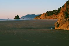Haystack Rock from Arcadia Beach